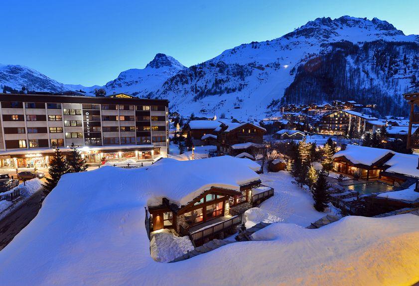 Le Tsanteleina hotel de luxe en Savoie